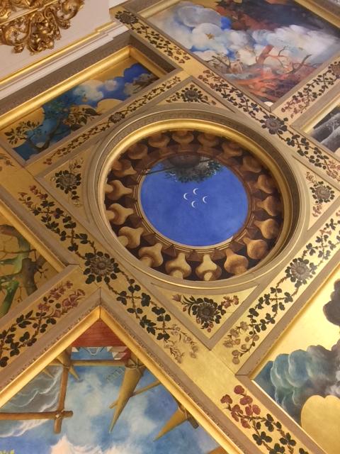 Plafond Huis de Pinto