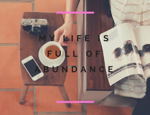 Life full of abundance